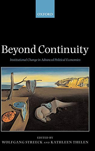 9780199280452: Beyond Continuity: Institutional Change in Advanced Political Economies