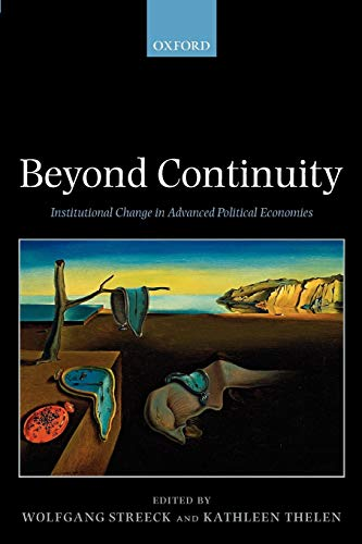 9780199280469: Beyond Continuity: Institutional Change in Advanced Political Economies