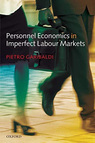 9780199280674: Personnel Economics in Imperfect Labour Markets