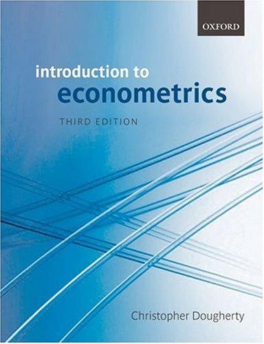 9780199280964: Introduction to Econometrics
