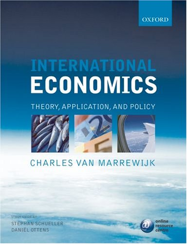 9780199280988: International Economics: Theory, application, and policy