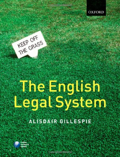 9780199281343: The English Legal System