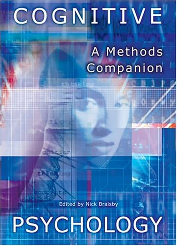 9780199281602: Cognitive Psychology: A Methods Companion