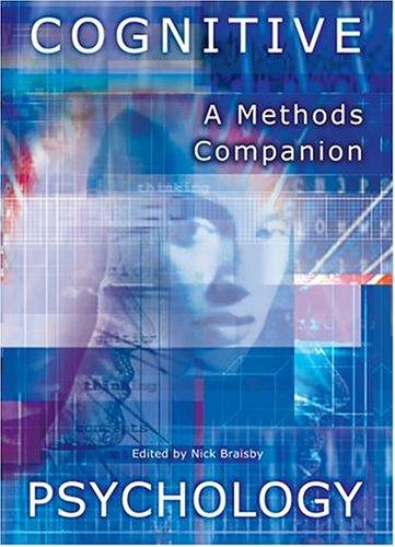 9780199281602: Cognitive Psychology: A Methods Companion