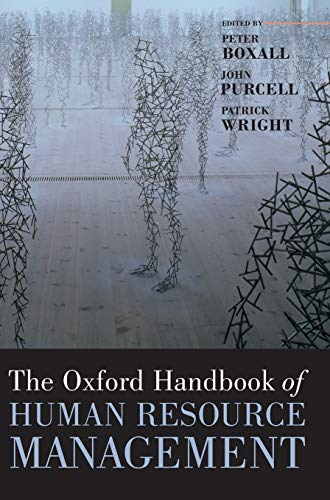 9780199282517: The Oxford Handbook of Human Resource Management (Oxford Handbooks)