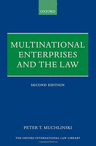 9780199282562: Multinational Enterprises and the Law