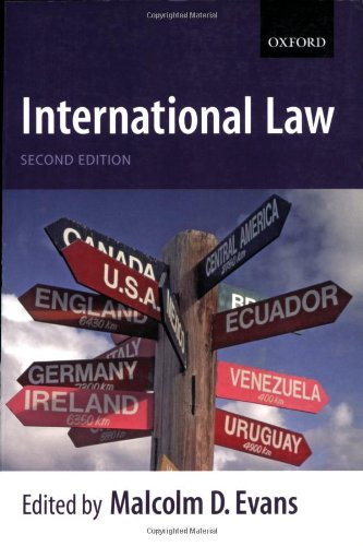 International law.: Evans, Malcolm D.