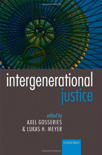 9780199282951: Intergenerational Justice