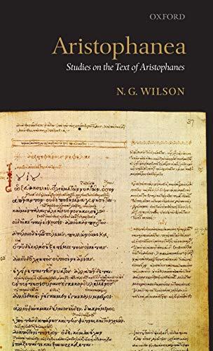 9780199282999: Aristophanea: Studies on the Text of Aristophanes