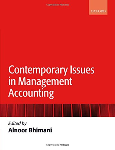 9780199283354: Contemporary Issues in Management Accounting