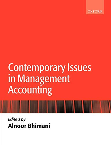 9780199283361: Contemporary Issues in Management Accounting