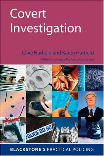 9780199283774: Covert Investigation (Blackstone's Practical Policing)