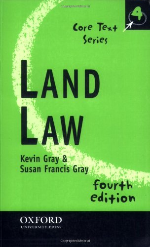 9780199284450: Land Law (Core Texts S.)