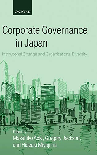 9780199284511: Corporate Governance in Japan: Institutional Change and Organizational Diversity