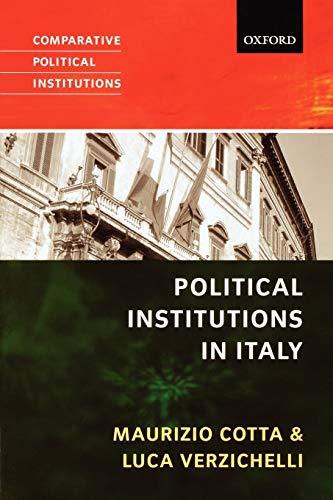 9780199284702: Political Institutions of Italy (Comparative Political Institutions Series)