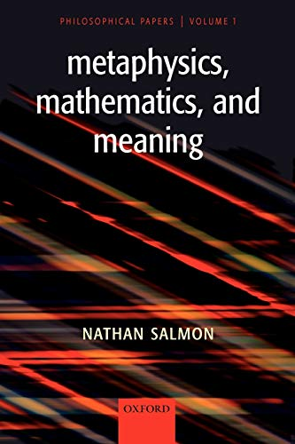 9780199284719: Metaphysics, Mathematics, and Meaning: Philosophical Papers, Volume I