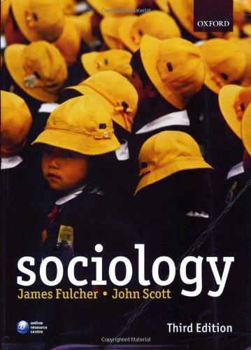 9780199285006: Sociology