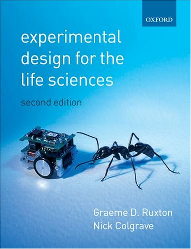 9780199285112: Experimental Design for the Life Sciences