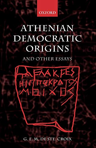 9780199285167: Athenian Democratic Origins: And Other Essays