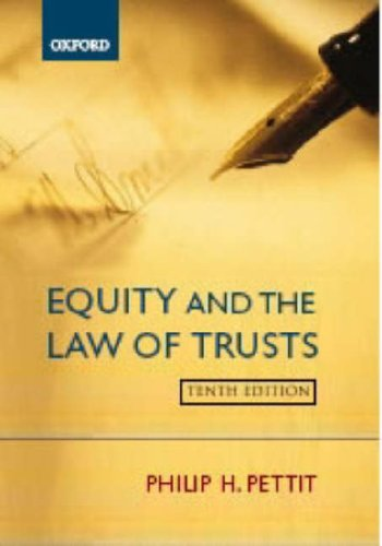 9780199285341: Equity and the Law of Trusts