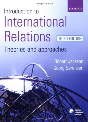 9780199285433: Introduction to International Relations: Theories and Approaches