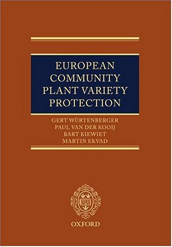 9780199286164: European Community Plant Variety Protection