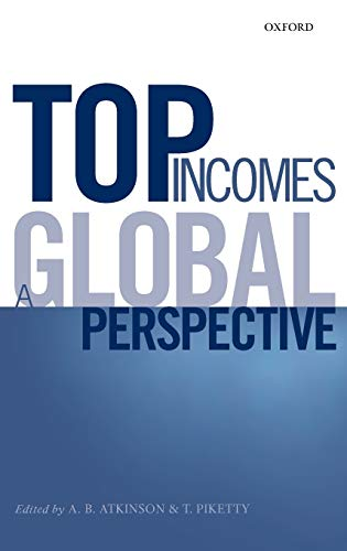 9780199286898: Top Incomes: A Global Perspective