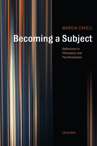 9780199287093: Becoming a Subject: Reflections in Philosophy and Psychoanalysis