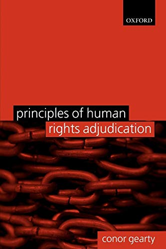 9780199287222: Principles of Human Rights Adjudication