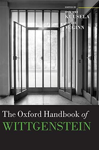 9780199287505: The Oxford Handbook of Wittgenstein (Oxford Handbooks)