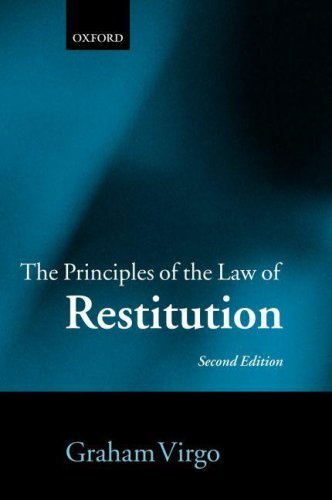 9780199287536: The Principles of the Law of Restitution
