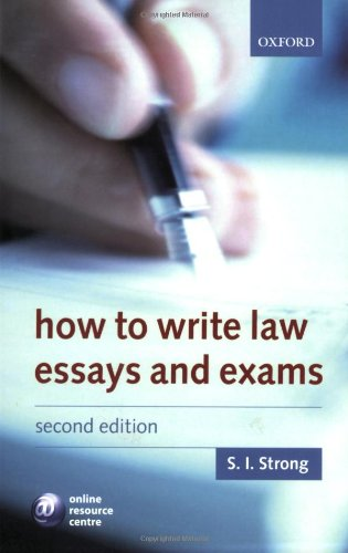 9780199287550: How to Write Law Essays & Exams