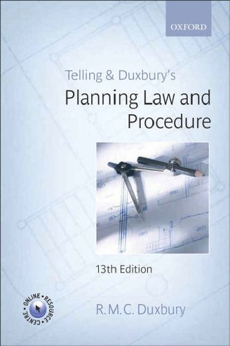 9780199288045: Telling & Duxbury's Planning Law and Procedure