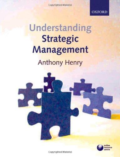9780199288304: Understanding Strategic Management