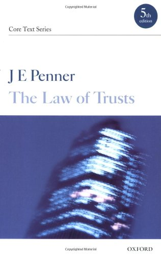 9780199288434: The Law of Trusts (Core Texts Series)