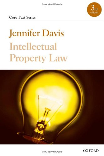 9780199288458: Intellectual Property Law (Core Texts Series)