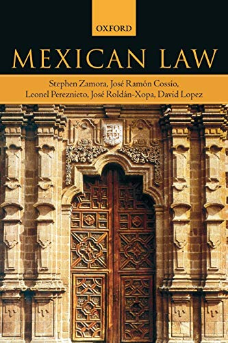 9780199288489: Mexican Law