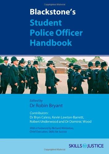 9780199289226: Blackstone's Student Police Officer Handbook