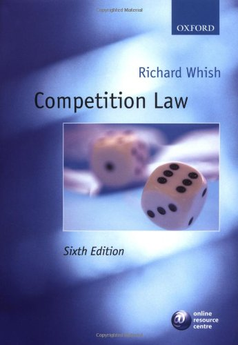 9780199289387: Competition Law