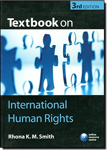 9780199289394: Textbook on International Human Rights