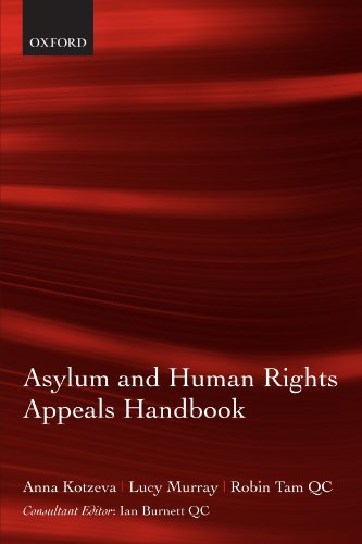Asylum and Human Rights Appeals Handbook: Anna Kotzeva, Lucy