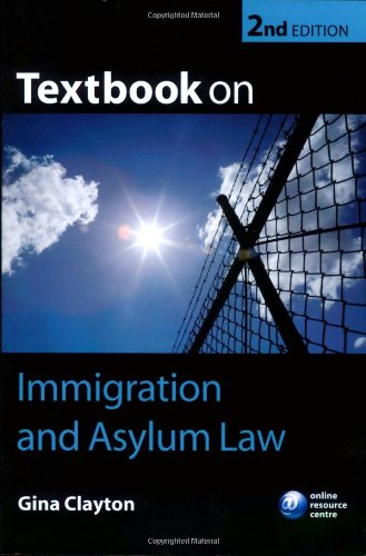 9780199289738: Textbook on Immigration and Asylum Law