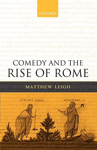 9780199290284: Comedy and the Rise of Rome