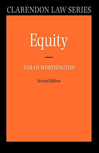 9780199290505: Equity (Clarendon Law Series)
