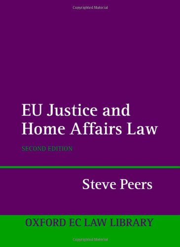 9780199290550: EU Justice and Home Affairs Law (Oxford European Community Law Library)