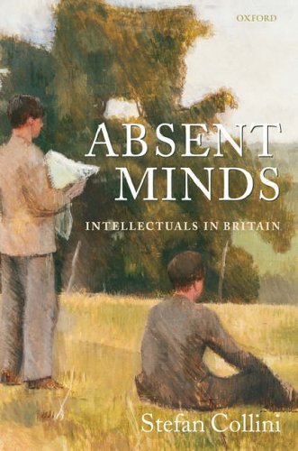 9780199291052: Absent Minds: Intellectuals in Britain