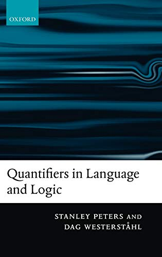 9780199291250: Quantifiers in Language and Logic