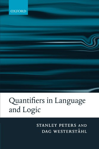 9780199291267: Quantifiers in Language and Logic