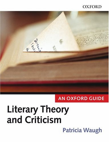 9780199291335: Literary Theory and Criticism: An Oxford Guide