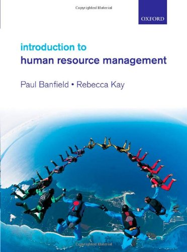9780199291526: Introduction to Human Resource Management